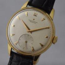 제니트 옐로우골드 35mm 수동감기 zenith cal.135 chronometre 18KYG 중고시계