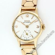 Doxa Rose gold Manual winding White 21.4mm pre-owned