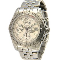 Breitling Chronomat Evolution Steel 44mm Silver