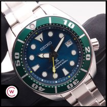 Seiko Prospex Steel 44mm Green No numerals