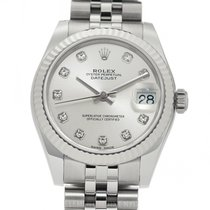 Rolex Lady-Datejust Steel 31mm Silver United States of America, New York, New York