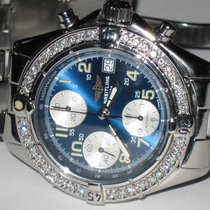 Breitling Colt Chronograph Steel 40mm Blue Arabic numerals United States of America, New York, Wantagh