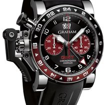 Graham Chronofighter Oversize GMT Steel 2OVGS.B20A