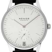 NOMOS Steel Manual winding Silver 37.50mm new Orion Datum