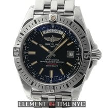 Breitling Galactic 44 Steel 44mm Black United States of America, New York, New York