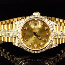Rolex Lady-Datejust 27mm Pezsgőszínű