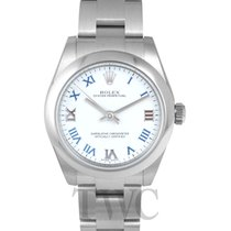 Rolex Oyster Perpetual Midsize White/Steel Ø31 mm - 177200