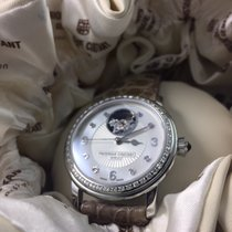 Frederique Constant Ladies Automatic Heart Beat Staal 34mm Parelmoer