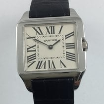 Cartier Santos Dumond white gold