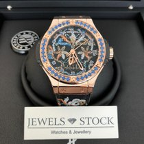 Hublot Big Bang Broderie ny 41mm Roséguld