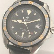 Zodiac Professional Swiss Quartz 200m Diver Steel Grey Dial...