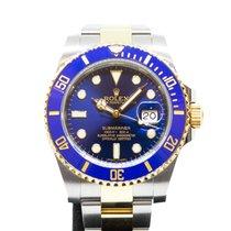Rolex Submariner Ceramic in Half Gold 116613LB
