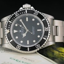 Rolex Submariner (No Date) Black Dial Black Insert-W/Box& Papers