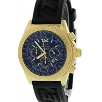 Breitling Yellow gold Automatic Black 44mm pre-owned B-2