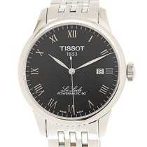 Tissot Le Locle Staal 39.3mm Zwart