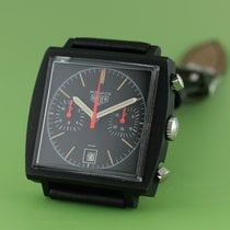Heuer Chronograph 40mm Manual winding 1974 pre-owned Black