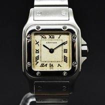 Cartier 24mm Cuarzo 2000 usados Santos Galbée Blanco