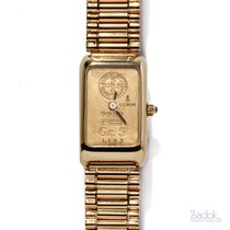 Corum Coin Watch pre-owned 17mm Yellow gold