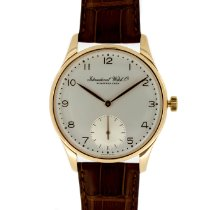 IWC Portuguese Hand-Wound Rose gold 42mm Silver Arabic numerals