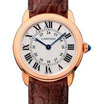 Cartier Ronde Solo de Cartier Rose gold 29.5mm Silver Roman numerals United States of America, New York, New York