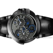 Harry Winston new Automatic PVD/DLC coating 44mm Sapphire crystal