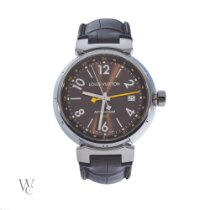 Louis Vuitton Steel 39mm Automatic Q1131 pre-owned United Kingdom, London