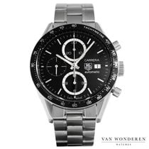 TAG Heuer Carrera Calibre 16 Staal 41mm Zwart Nederland, Purmerend
