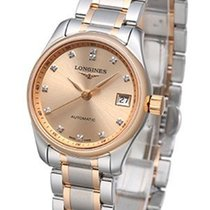 Longines Master Collection Gold/Steel 25.5mm Pink