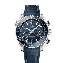Omega Seamaster Planet Ocean Chronograph Acier 45.5mm Bleu