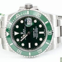 Rolex Submariner Date Steel 40,00mm Green No numerals