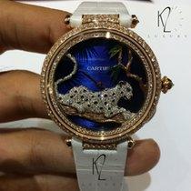 Cartier Oro rosado 42.75mm Cuerda manual HPI00712 nuevo