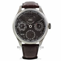 IWC Portuguese Perpetual 44mm White gold Grey Dial