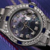 Rolex Lady-Datejust Acél 26mm Gyöngyház Számjegyek nélkül