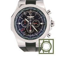 Breitling Bentley limited GMT British racing green a47362S4 NEW