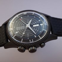 Vulcain Nautical Steel 42mm Black Arabic numerals