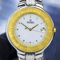 Fendi Orologi 900G Unisex Gold-Plated Stainless Steel Swiss...