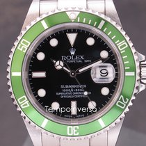 Rolex Submariner Date classic green FF Mark 1 full set unpolished