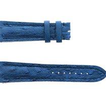 Breitling Teile/Zubehör neu Straußenleder Blau