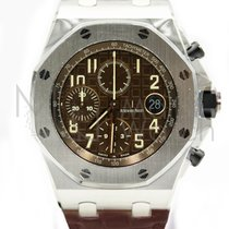 Audemars Piguet Royal Oak Offshore Chronograph Stål 42mm Brun