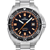 Delma Steel 44mm Automatic 41701.670.6.031 new