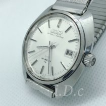 Seiko King Steel 37mm Silver No numerals
