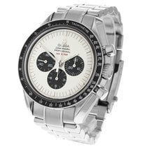 Omega Speedmaster Professional Moonwatch Acier 42mm Blanc