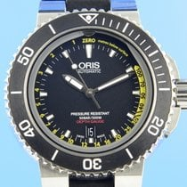 Oris Aquis Depth Gauge Steel 46mm Black