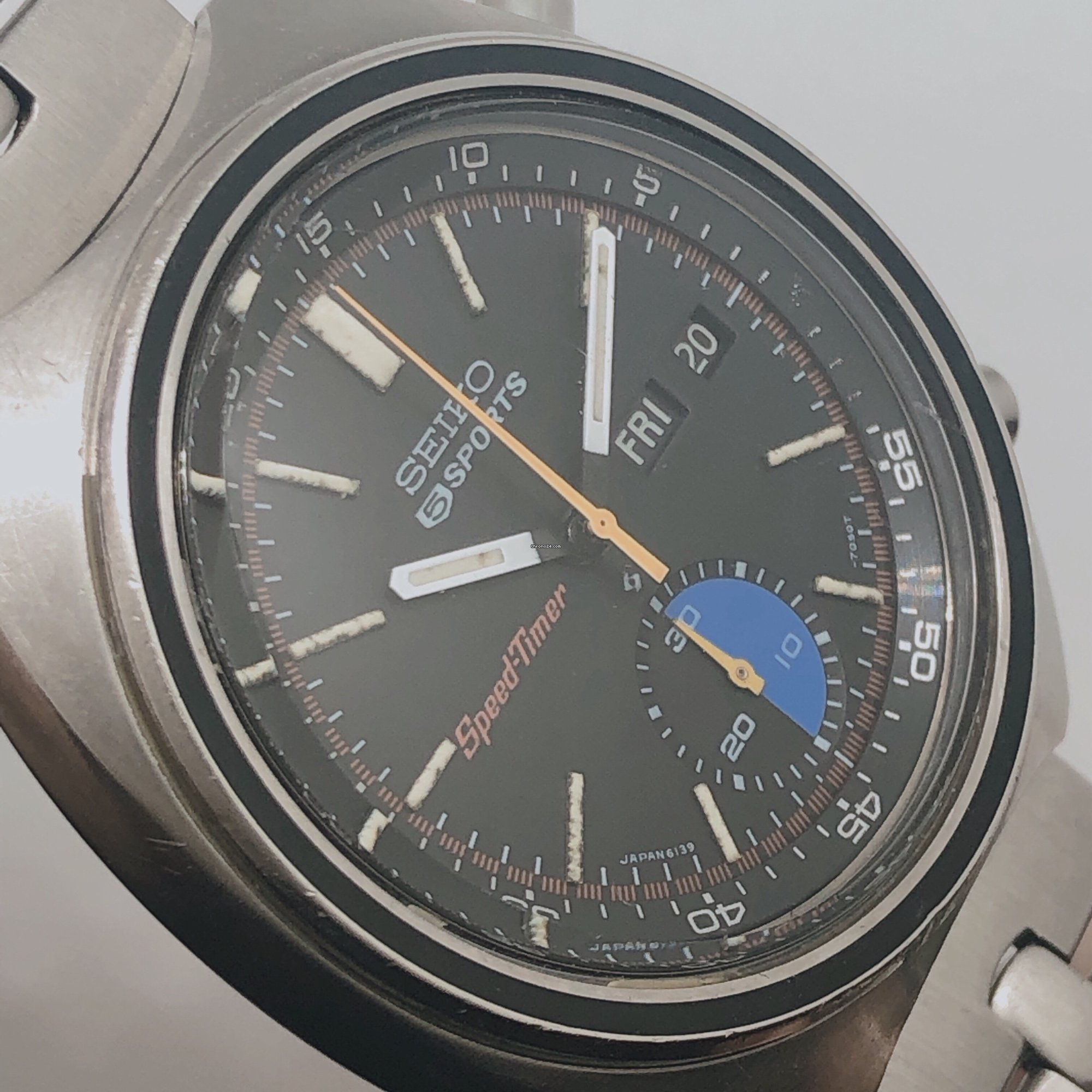 Seiko Vintage Seiko 5 Sports Speedtimer 6139 7020 For 425