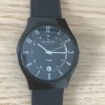Skagen Titanium 41mm Quartz 233XLTMB pre-owned