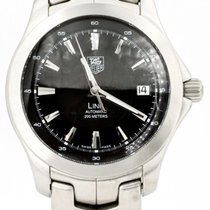 TAG Heuer Link Steel 40mm Black United States of America, Illinois, BUFFALO GROVE