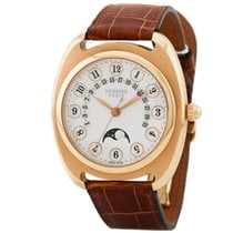Hermès Dressage Rose gold 40mm Silver Arabic numerals United States of America, California, Newport Beach