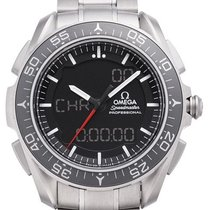 Omega Speedmaster Skywalker X-33 Titanium 45mm Zwart
