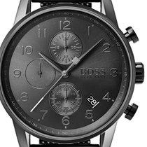 Hugo Boss Acier 44mm Quartz 1513674 nouveau
