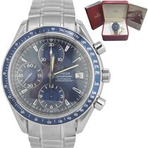 Omega Speedmaster Date Steel 39mm Blue United States of America, New York, Massapequa Park